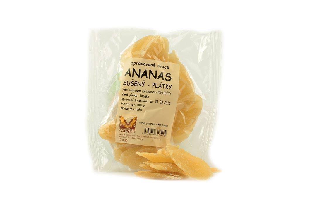 Ananas bez cukru niesiarkowany