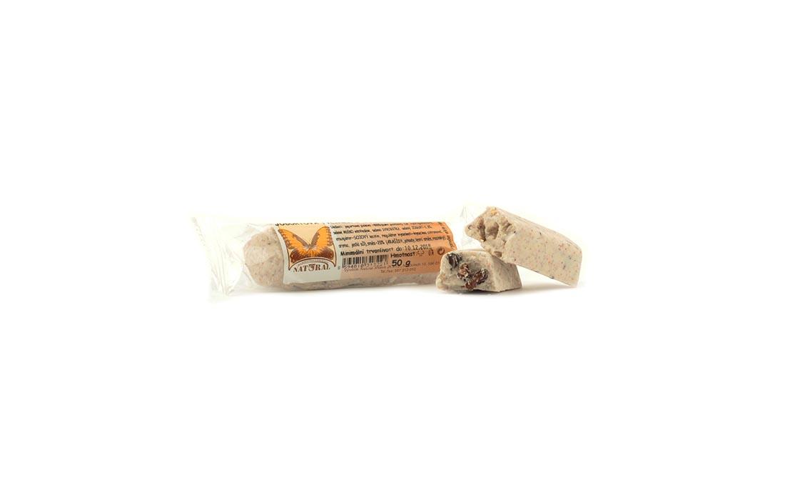 Baton czekoladowy w polewie jogurtowej