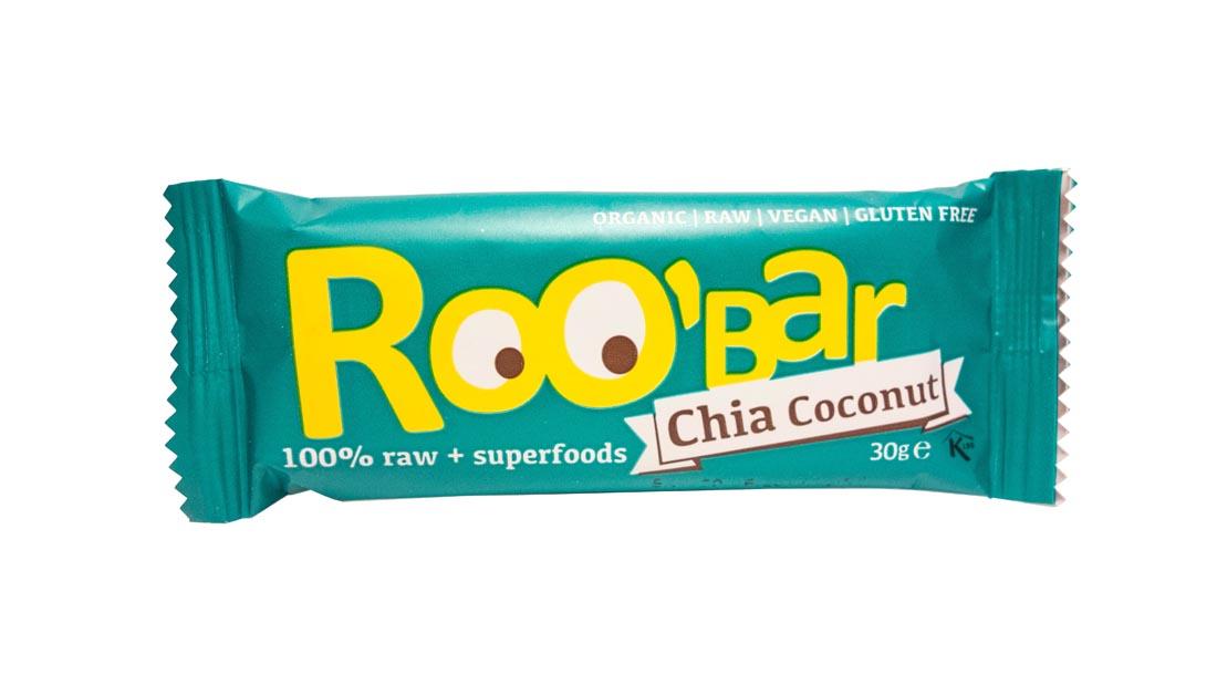 Baton kokosowy z chia bio RAW 35g