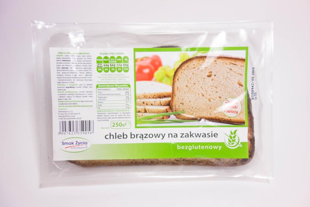Chleb wiejski brązowy bezglutenowy