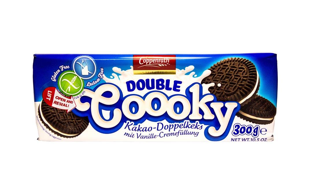 Ciastka kakaowe bezgutenu i laktozy 300g