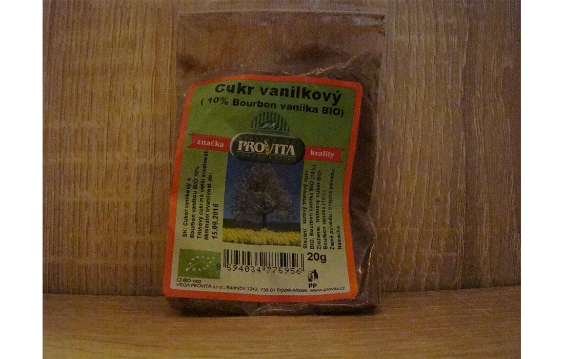 Cukier trzcoinowy  z laską wanili burbonskiej