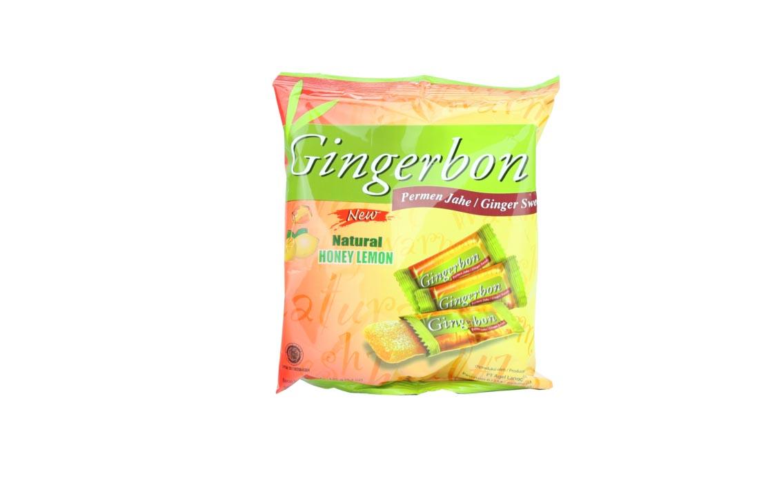 Cukierki imbirowe z miodem i cytryną