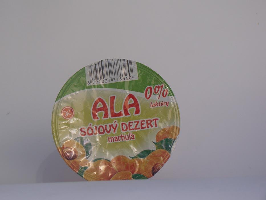 Deser sojowy ALA z morelami 130g