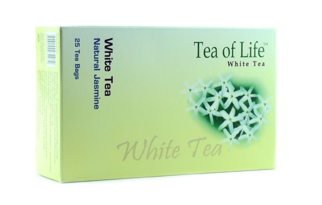 Herbata biała sri lanka z lawendą
