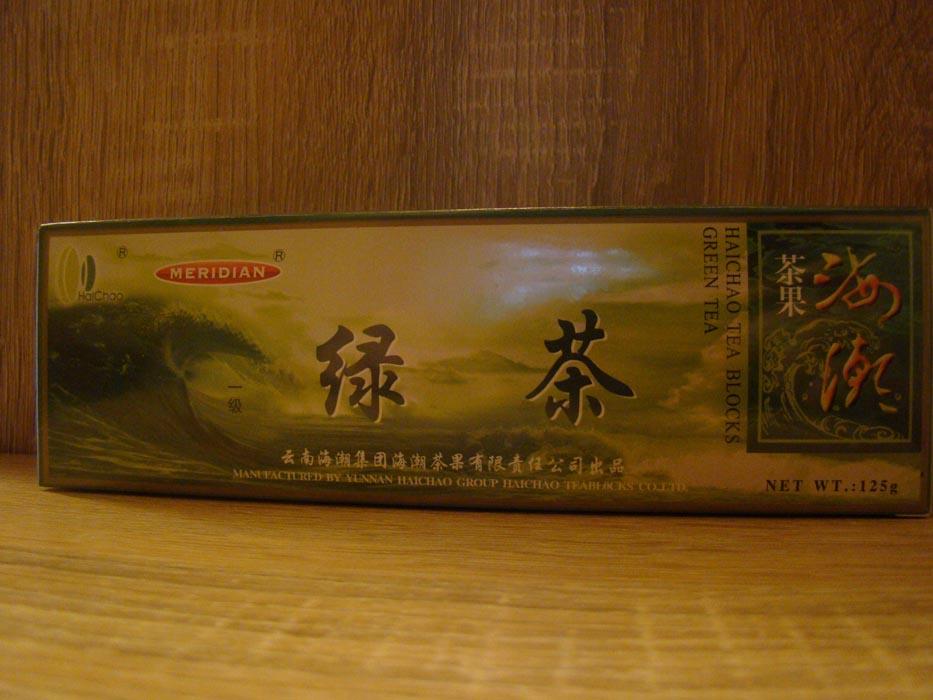 Herbata zielone kostki