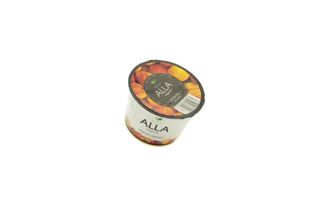 Jogurt sojowy z brzoskwinią