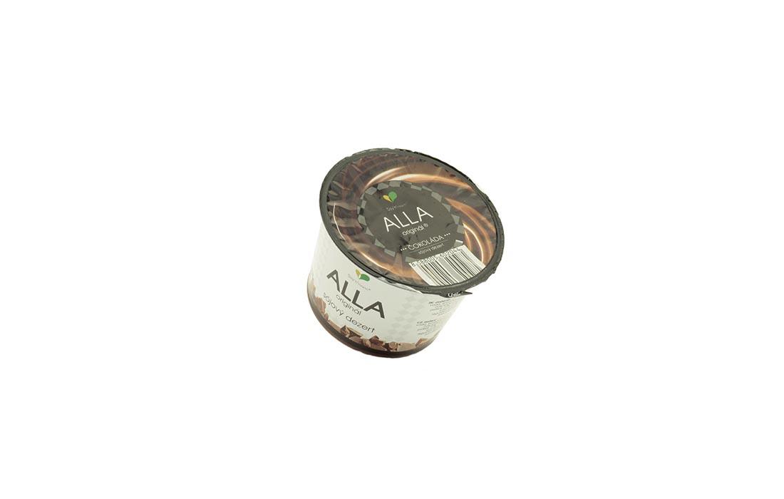 Jogurt sojowy z czekoladą