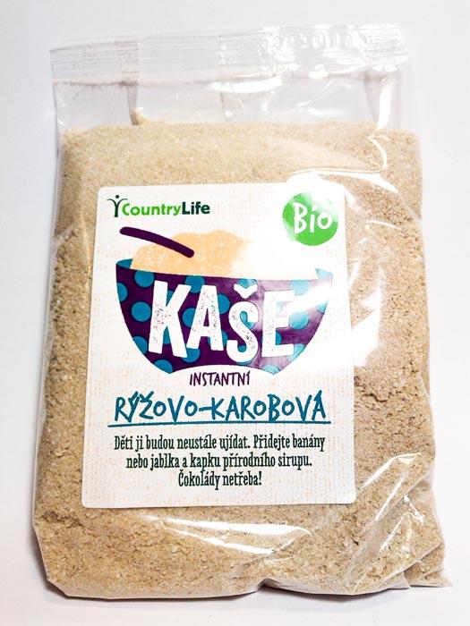 Kaszka ryżowo-karobowa bio