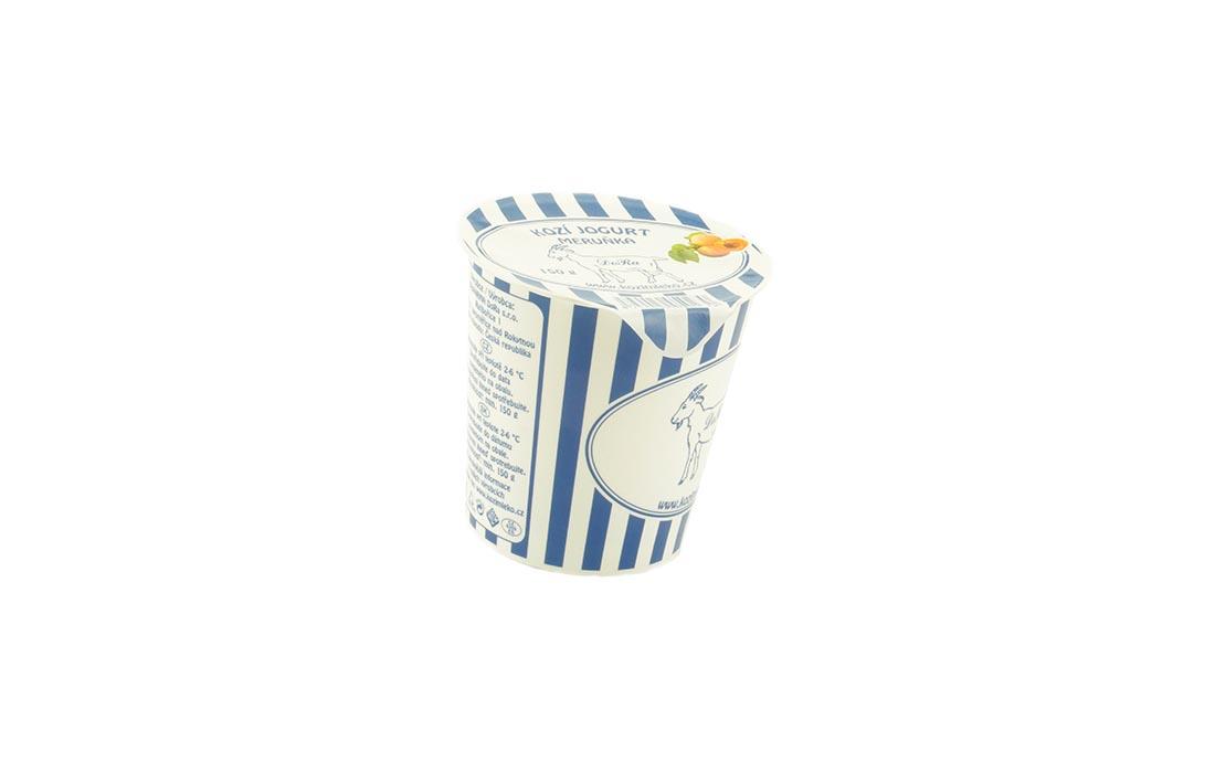 Kozi jogurt z morelą