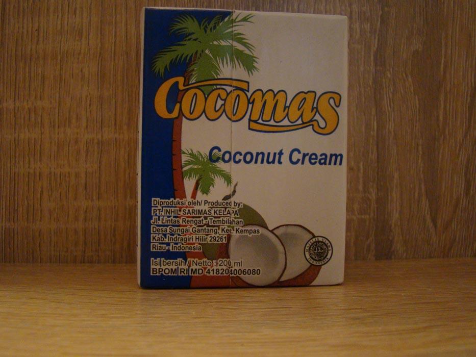 Krem kokosowy