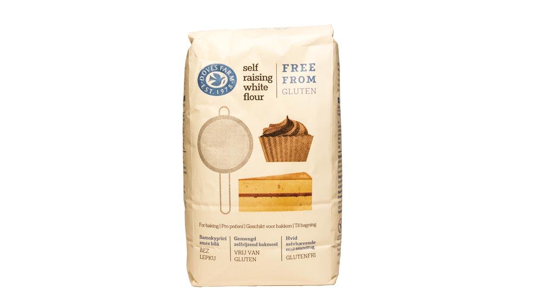 Mąka bezglutenowa biała samorosnąca z bezglutenowym proszkiem do pieczenia 1kg