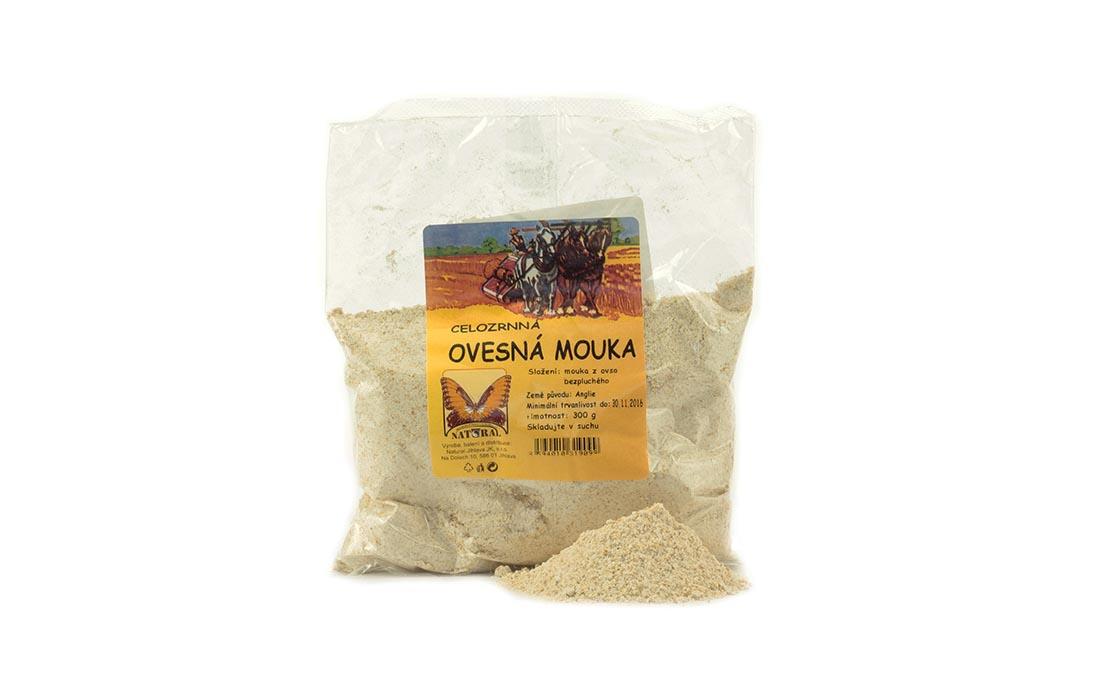 Mąka owsiana razowa