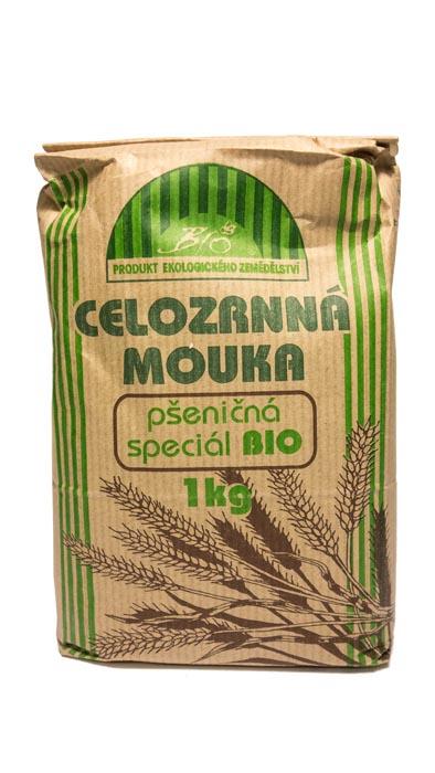 Mąka pszenna razowa bio 1kg