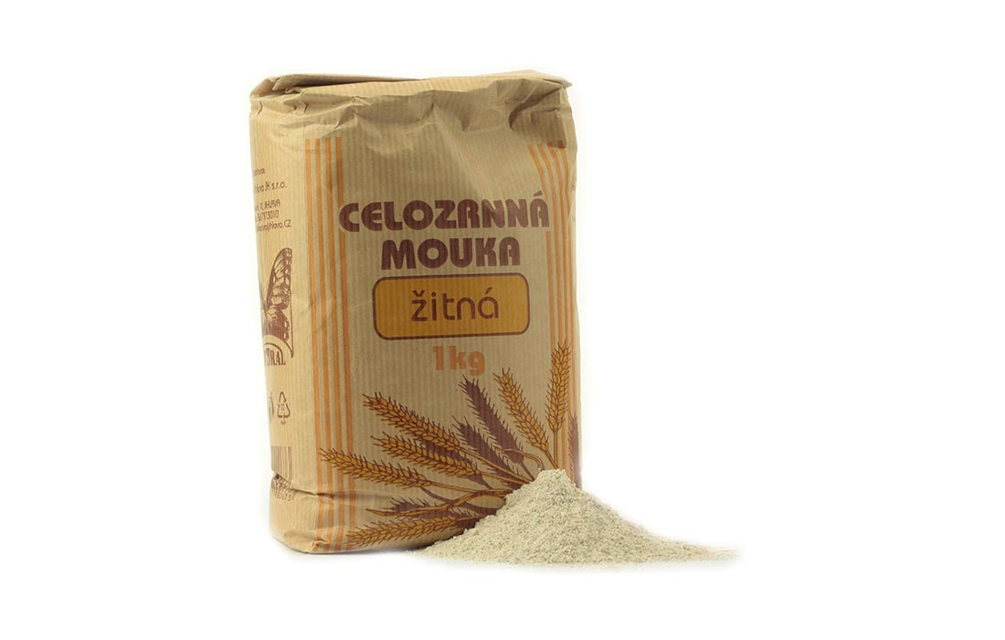 Mąka razowa żytnia