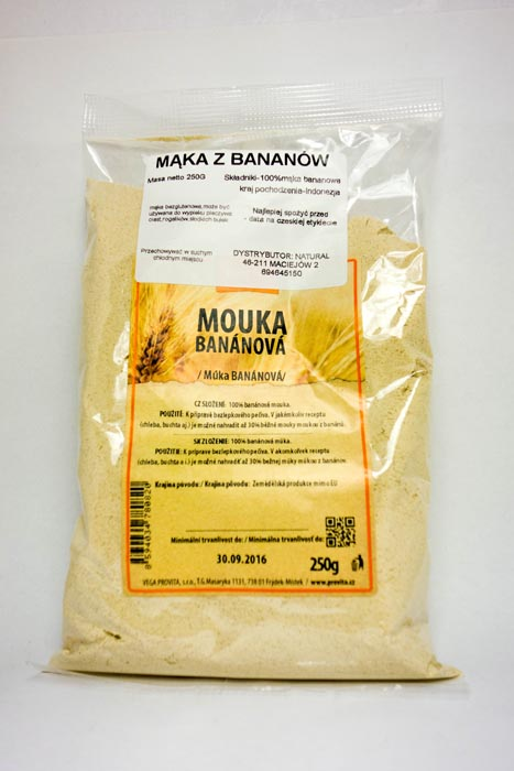 Mąka z banów 500g