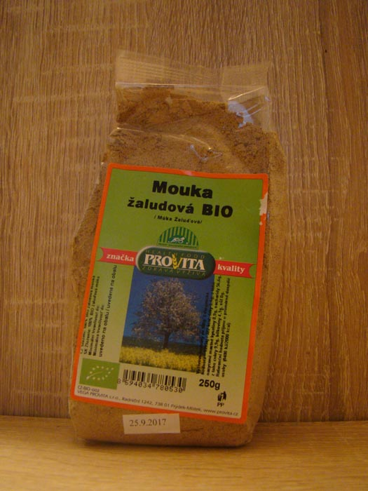 Mąka z żołędzi bio