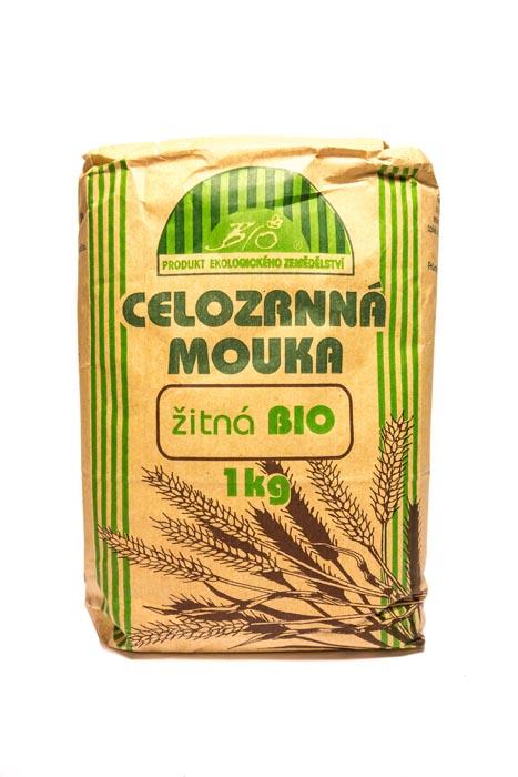 Mąka żytnia razowa bio 1kg