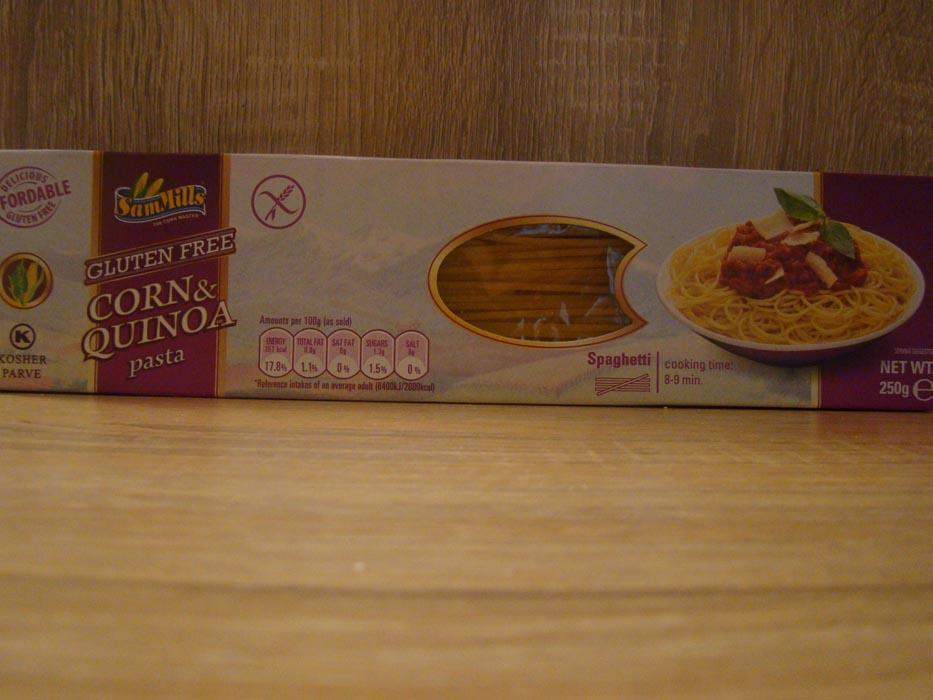 Makaron kukurydziany spagheti z quinoa