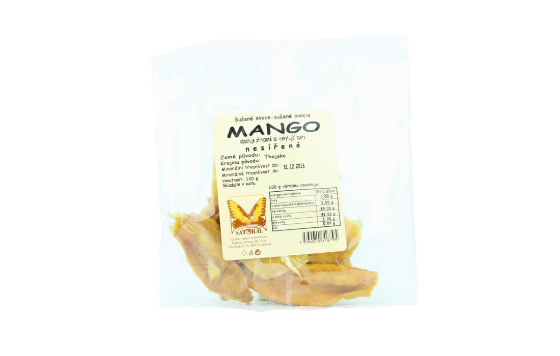 Mango bez cukru niesiarkowane
