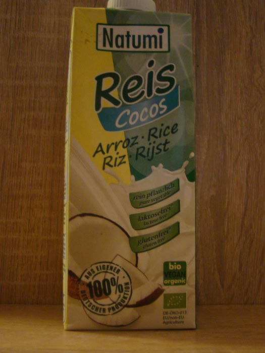 Napój ryżowy bio z kokosem