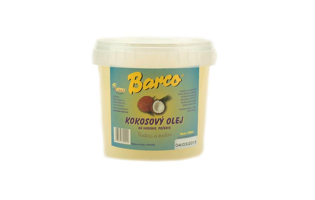 Olej kokosowy bez zapachowy
