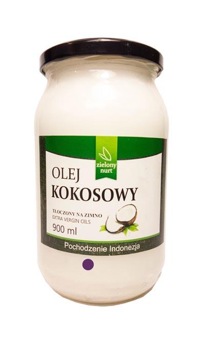 Olej kokosowy ekstra virgin o zapachu kokosu 900ml