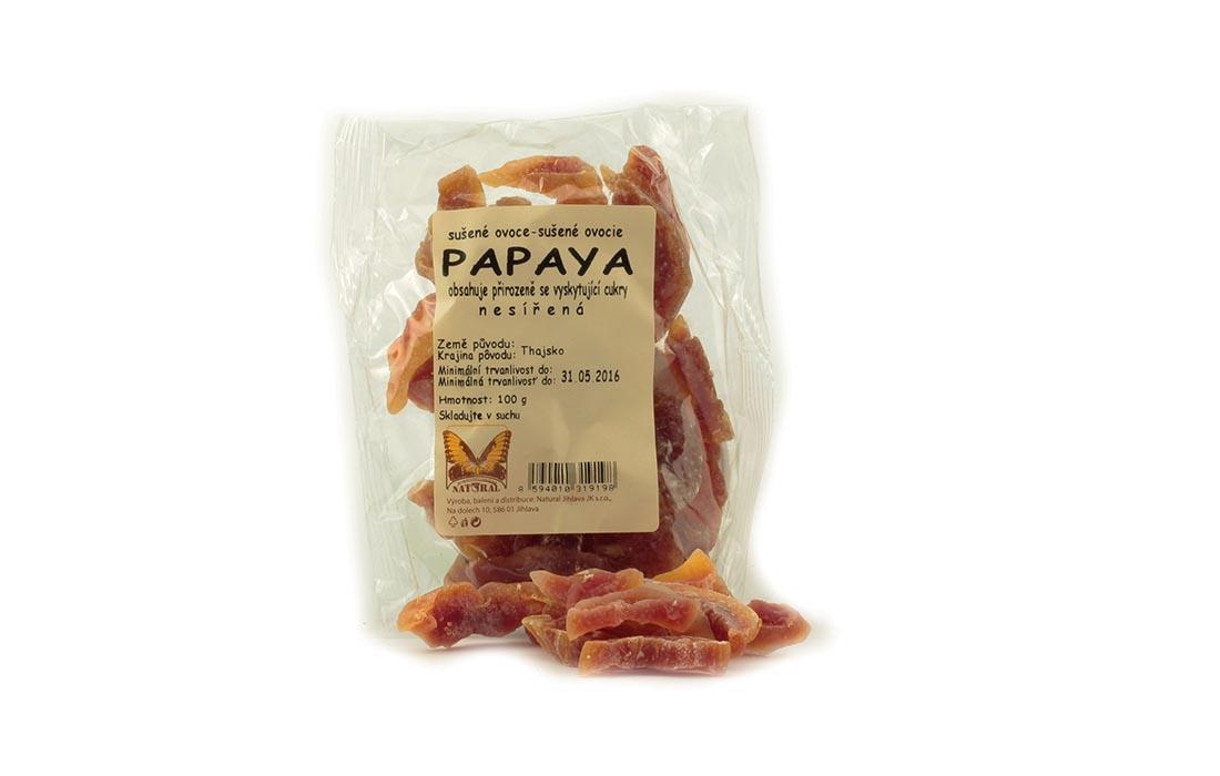 Papaya niesiarkowana bez cukru