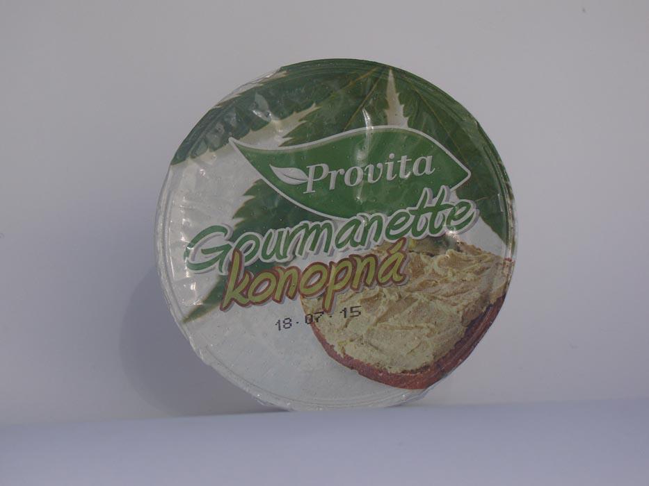 Pasta Gourmantte z konopii