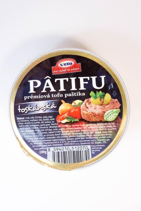Pasta tofu toskańska