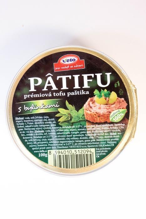 Pasta tofu z ziołami
