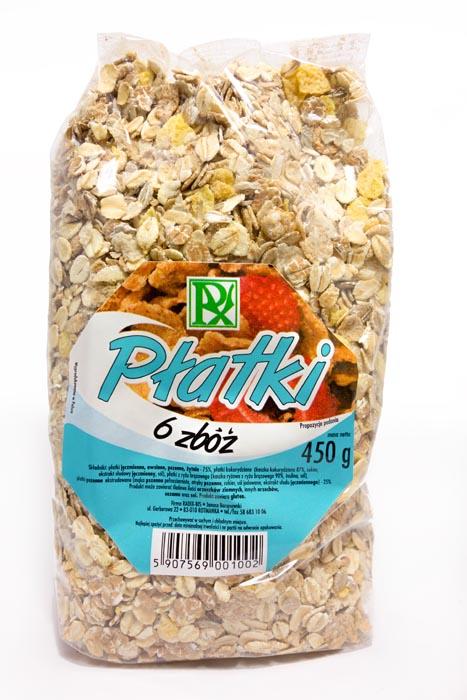Płatki 6 zbóż