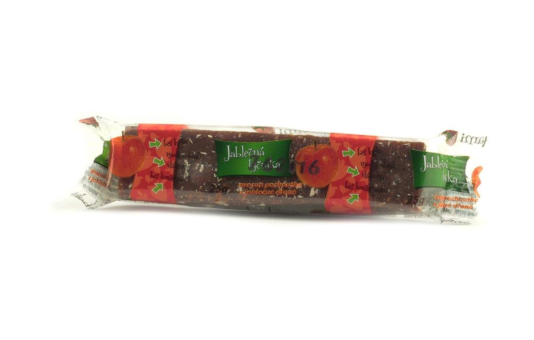 Rurki jabłkowe z truskawkami