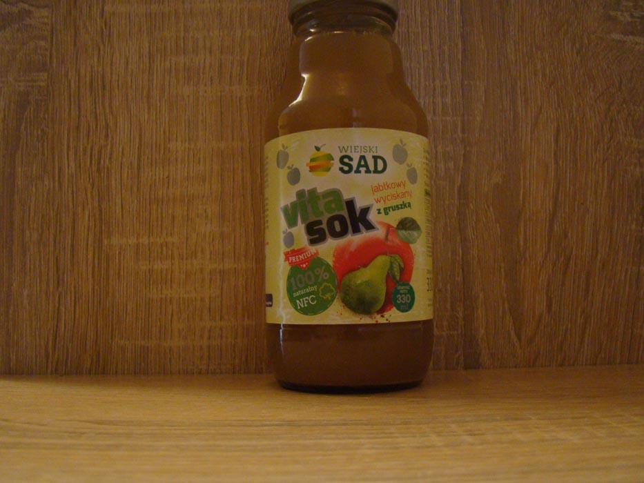 Sok jabłkowy z gruszką