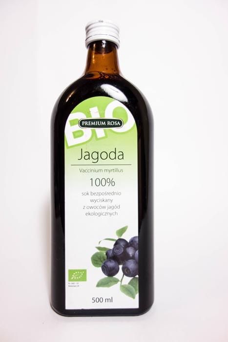 Sok z jagód bio