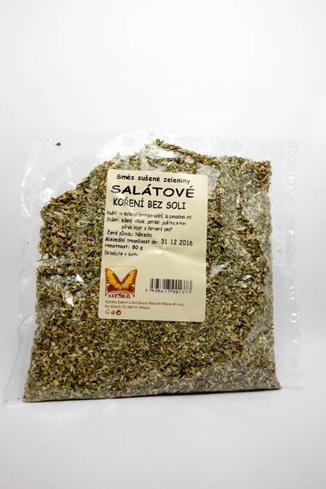 Suszone zioła do sałatek bez soli