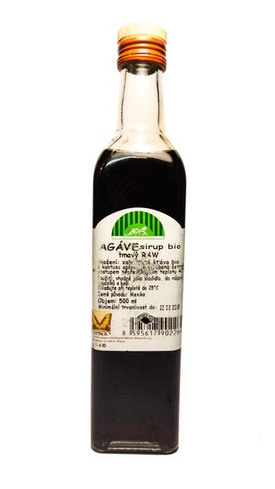 Syrop z agawy bio RAW ciemny 710g