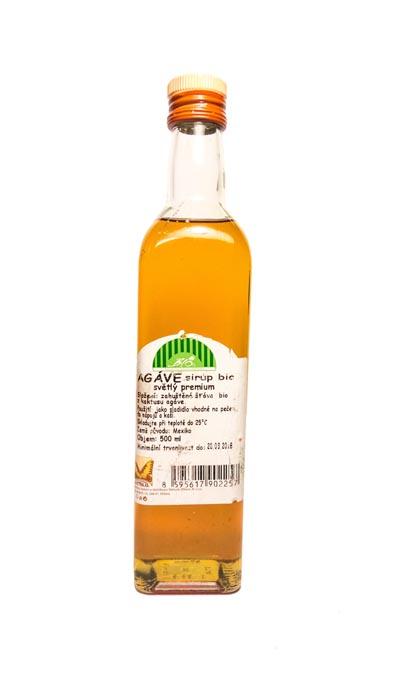 Syrop z agawy bio RAW jasny 710g