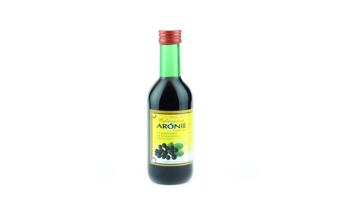 Syrop ziołowy aronia