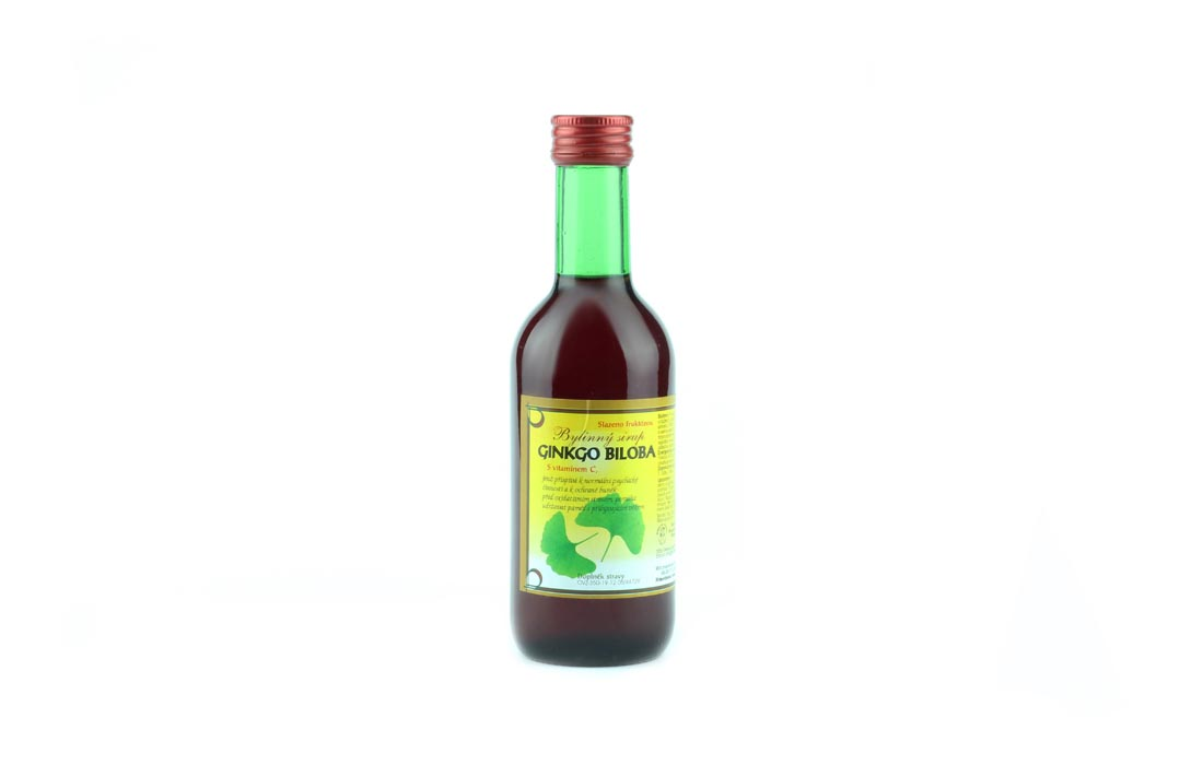 Syrop ziołowy gingo biloba