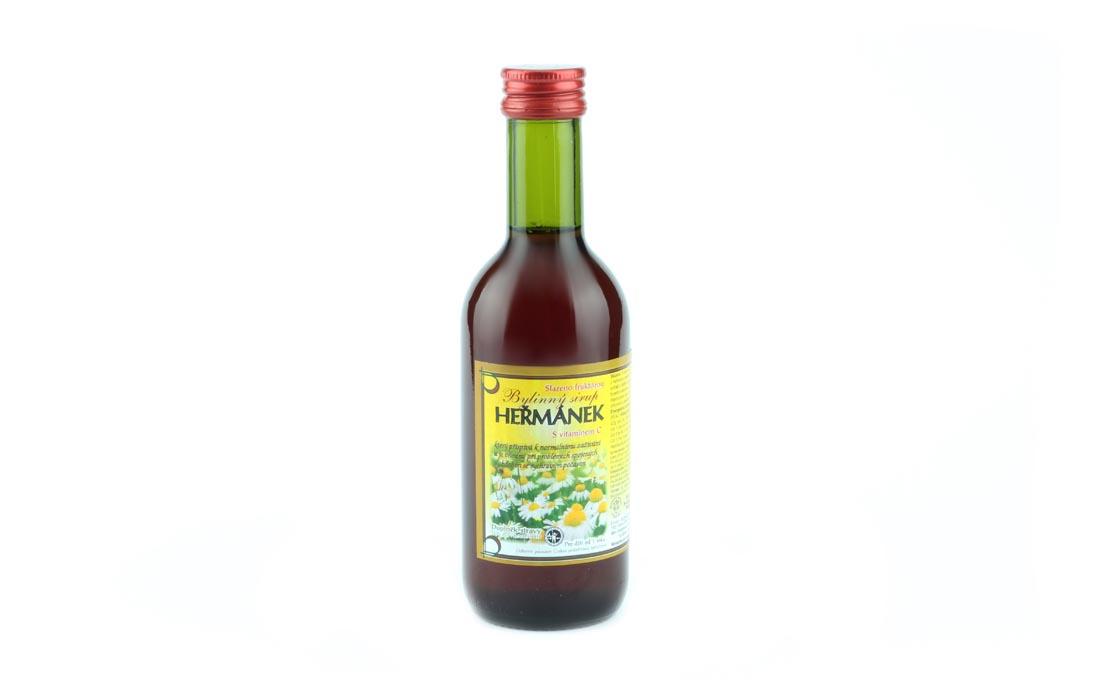Syrop ziołowy rumiankowy