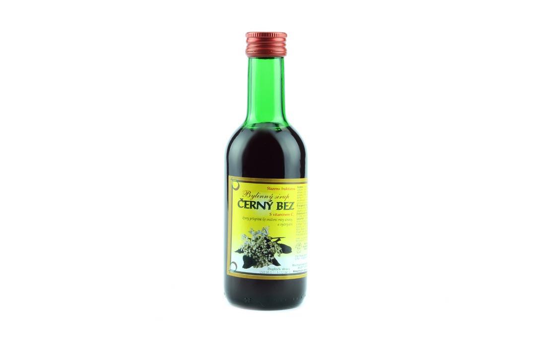 Syrop ziołowy z czarnej pożeczki
