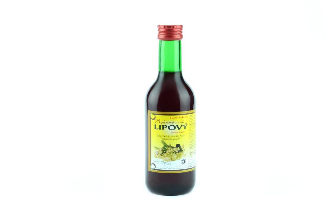 Syrop ziołowy z lipą